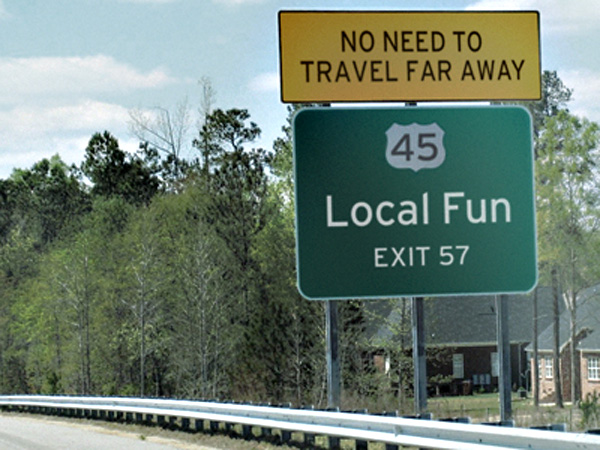 Staycation - Local Fun
