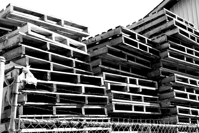 Wood Pallets - Corporate Waste