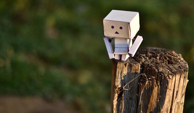 DIY Cardboard Robot