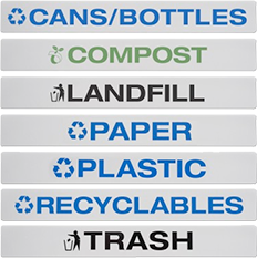 Echelon Recycling Station - Standard Labels