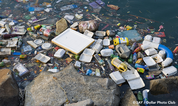 This recycling innovation automatically cleans ocean waste