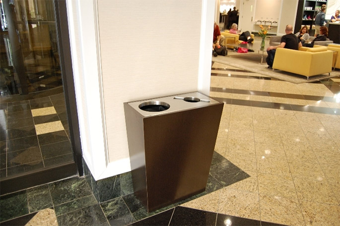 Match Your Furniture to Your Waste System with Stylish Recycling Bins