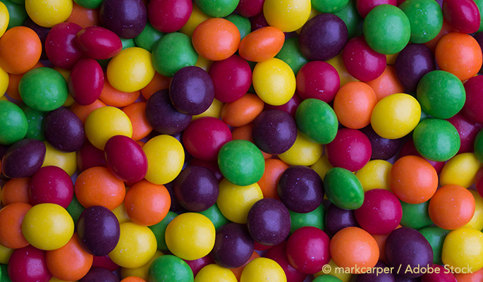 Farmers Feed Their Cows Defective Skittles to Save Money and Fight Food Waste