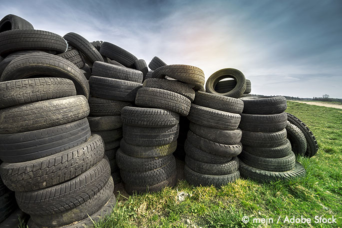 Can old tires be fully recyclable waste wise products for What can old tires be used for