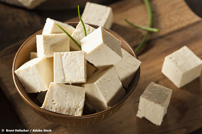 Cutting back on food waste by making tofu wine
