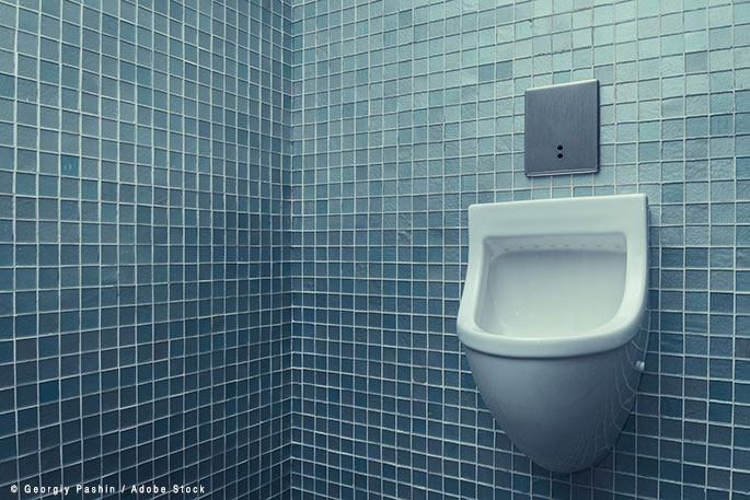Ever consider a Waterless Urinal to improve your business' sustainability?