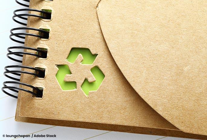 Recycling Animal Waste Into Paper