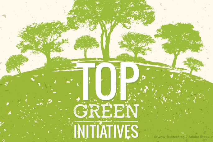 This Month's Roundup of Top Green Initiatives