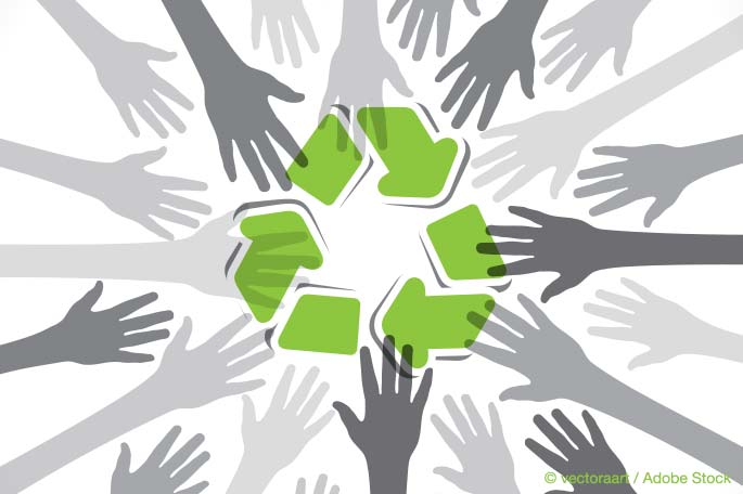 How To Make Office Recycling Bins Raise Team Morale