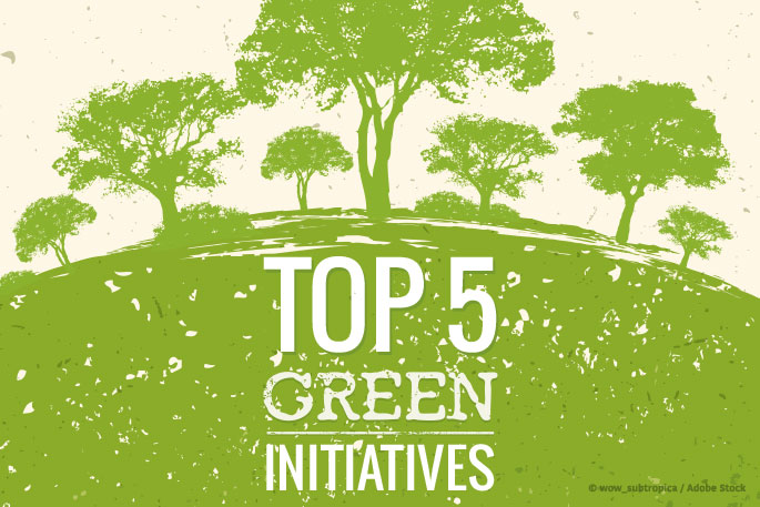 Our Top 5 Green Initiatives for June 2019