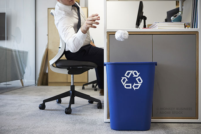 6 Ontario recycling tips for office buildings