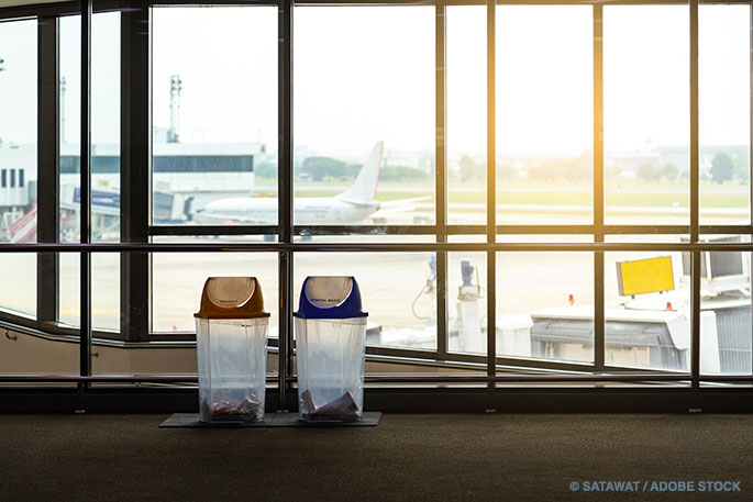 How Airports Can Improve Their Recycling Programs