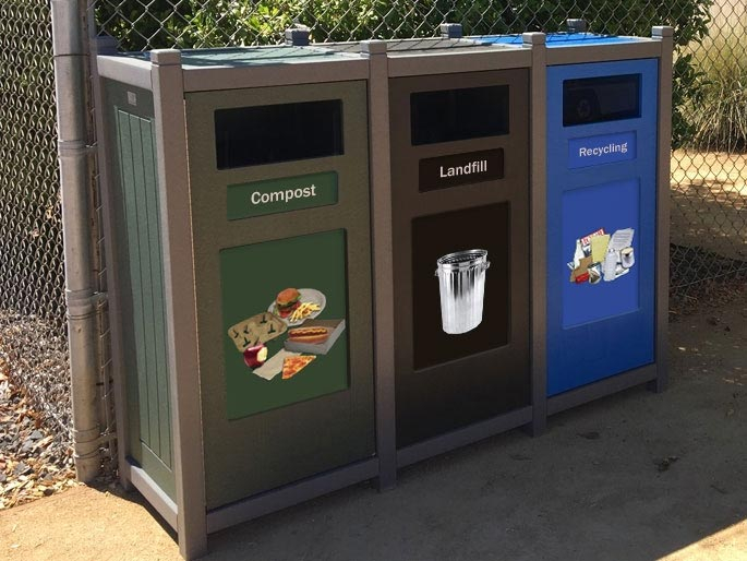 4 Components of a Successful Outdoor Recycling Program