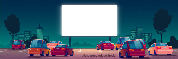 Wal-Mart Plans To Turn Parking Lots Into Drive-In Theaters