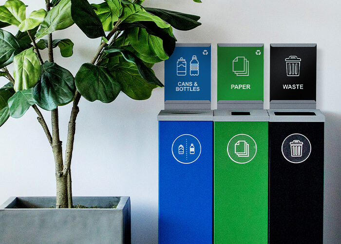 Spectrum Recycling Receptacles Collection